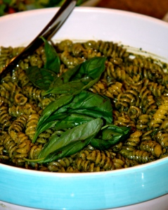 nutty, salty, cheese, pesto!